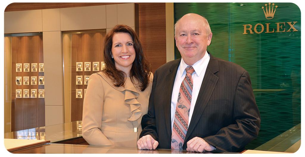 Dan and Hope Wixon from Wixon Jewelers in Minnesota