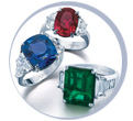 Gemstone Rings from JB STar