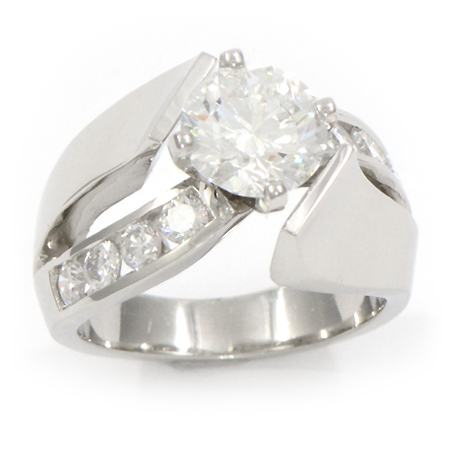 contemporary engagement ring - Contemporary Wedding Rings