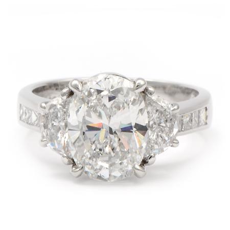 jb star engagement ring 3 carat oval diamond wixon jewelers