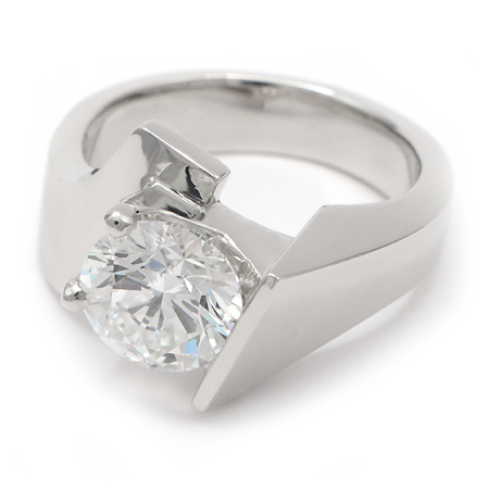 Superb Contemporary Engagement Ring Idea