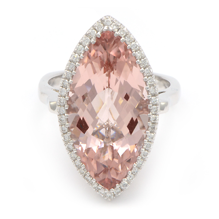 Morganite Ring 051067 Gemstone Jewelry Wixon Jewelers