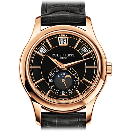 Patek Philippe Rose Gold Annual Calendar Men's Watch
