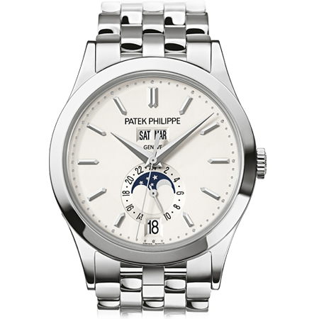 Patek Philippe Annual Calendar Moonphase Men's Watch