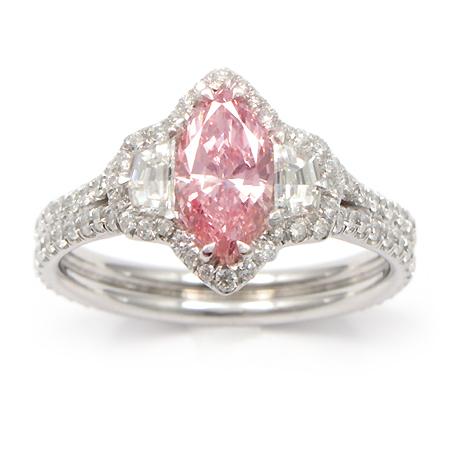 pink diamond ring 014008 wixon jewelers minneapolis mn