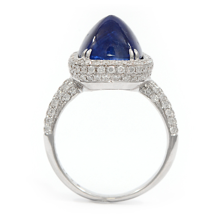 Harry Winston Sapphire Engagement Ring