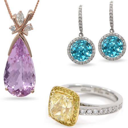 Color Gemstone Jewelry