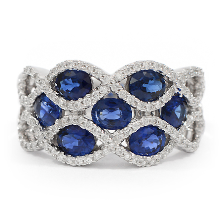 Blue Sapphire Ring Color Gemstones Wixon Jewelers