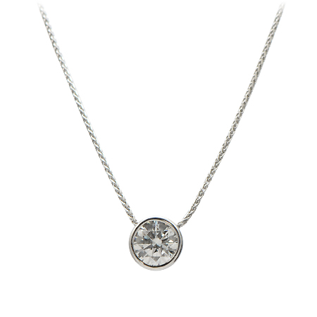 bezel art br htm g brilliant solitaire round diamond cut pendant set