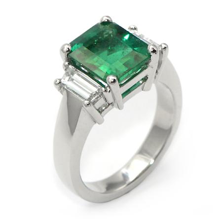 Emerald Cut Emerald Ring Gemstone Jewelry In Mn Wixon