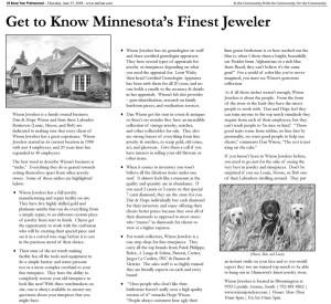 Best MN Jewelry - Wixon Jewelers