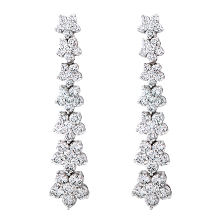 Drop Dangle Diamond Earrings
