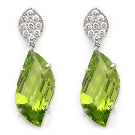 product by original embers birthstone necklace peridot earrings dot sterling round stud stone silver
