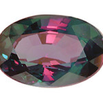 Alexandrite with Mixed Color