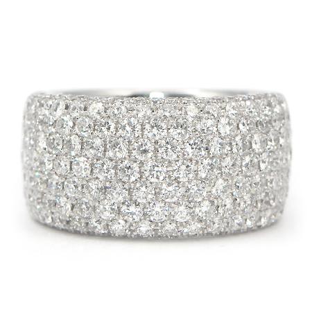 Diamond Anniversary Ring Wide Band Wixon Jewelers
