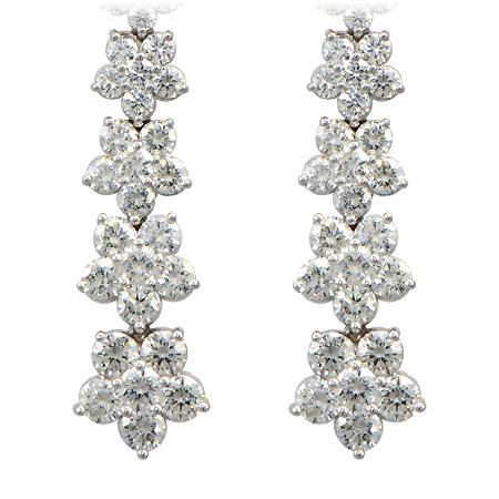 Drop Dangle Diamond Earrings
