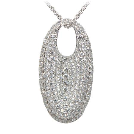 Pave diamond pendant wixon jewelers pave diamond pendant aloadofball Images