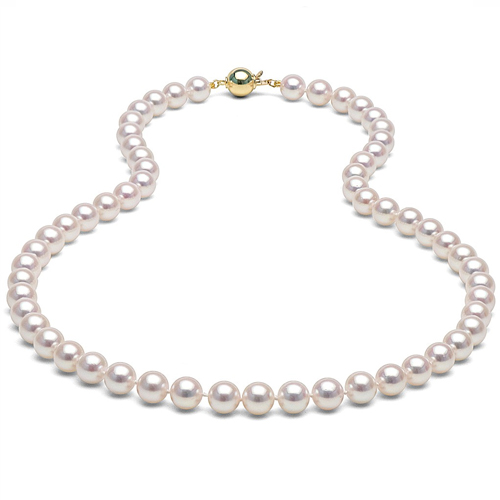 wixon colored jewelers strands jewelry rose necklaces pearls necklace akoya pearl