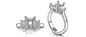 Custom Engagement Ring Design in Minneapolis MN Wixon Jewelers