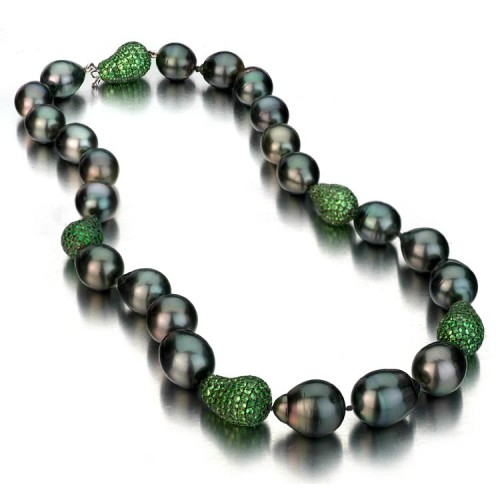 Boroque Tahitian Pearl Necklace