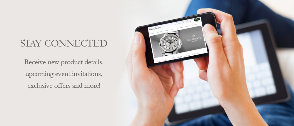 Stay Connected with Wixon jewelers