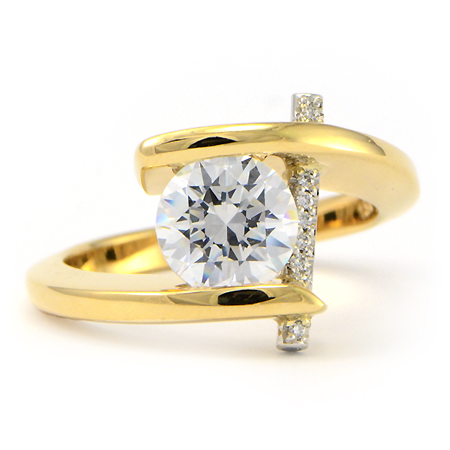 Claude Thibaudeau Engagement Rings Pure Perfection In