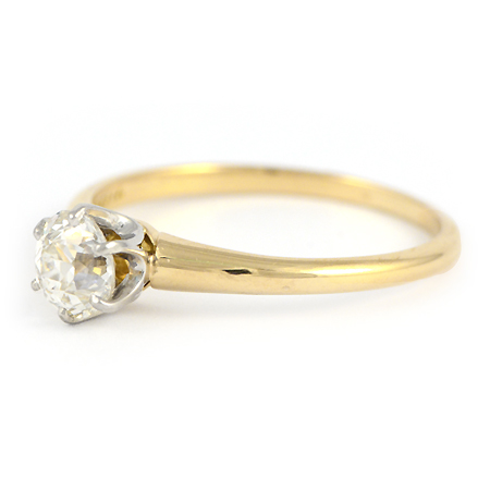 Tiffany Co Solitaire Engagement Ring Vintage Wixon Jewelers