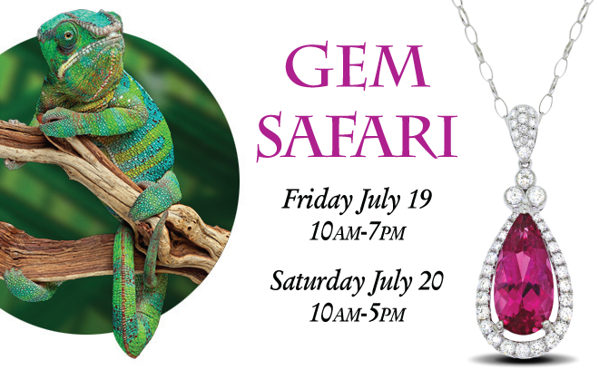 Gem Safari Gemstone Jewelry Event