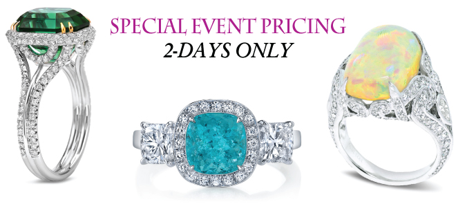 Special Event Pricing - 2 Days Only