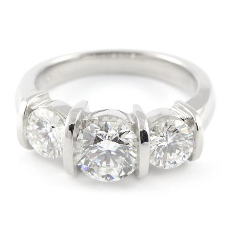 custom platinum engagement ring from minnesota wixon