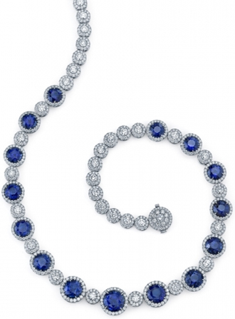 Ceylon Blue Sapphire Necklace