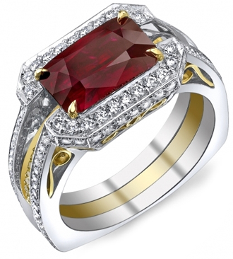 Ruby Burma Gemstone Ring