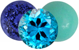 June Birthstones Zircon, Turqouise