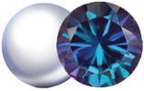 June Birthstones are Pearl and Alexandrite