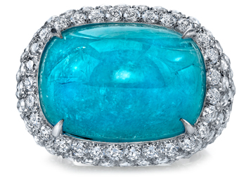 Lovely Paraiba Tourmaline Gemstone Jewelry Pictures Gallery
