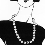 Matinee Pearl Necklace