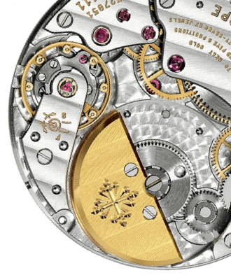 Mechanical Watch Movement by Patek Philippe