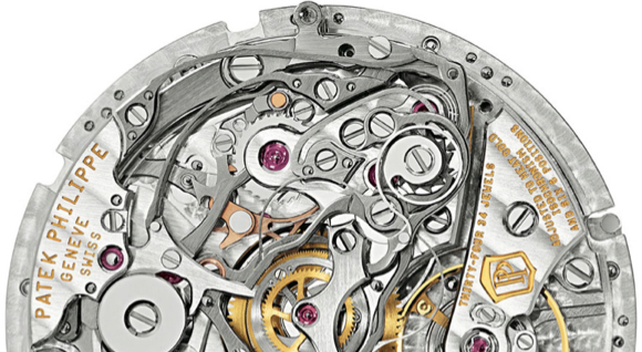 Manual Wind Movement by Patek Philippe