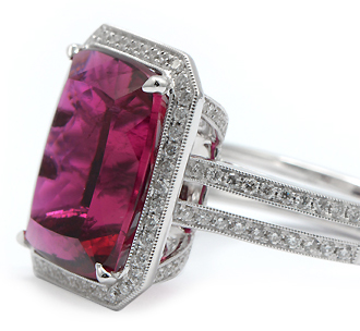 Rubellite Gemstone Jewelry