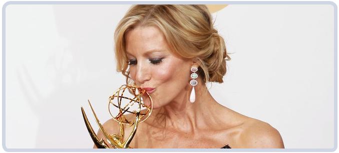 Anna Gunn at 65th Emmy Awards