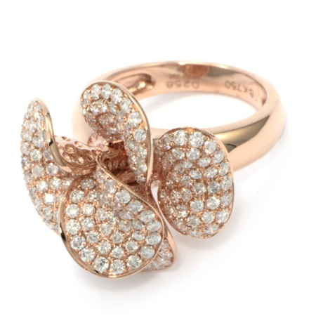 jewellery cocktail gold right white rose hand and rings ring fashion
