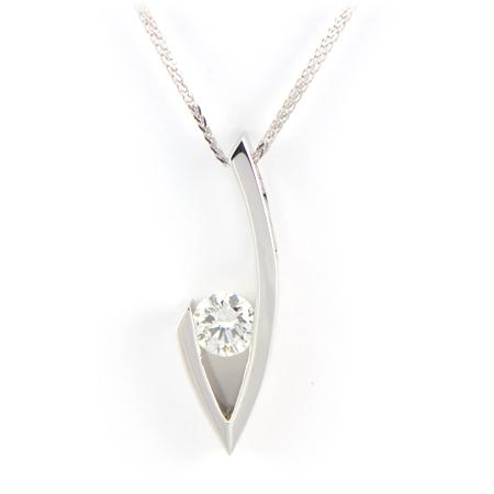 Custom diamond pendant minneapolis mn wixon jewelers contemporary diamond pendant wixon custom aloadofball Images