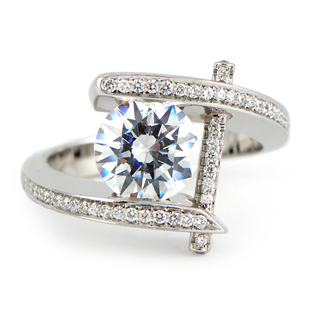 Pure Perfection Engagement Ring In Platinum Wixon Jewelers