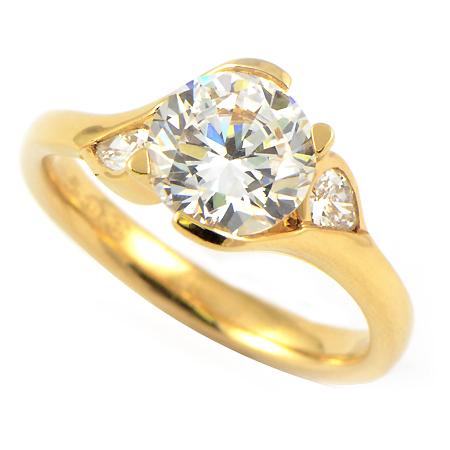 Maevona Engagement Rings Poppy In Yellow Gold Wixon
