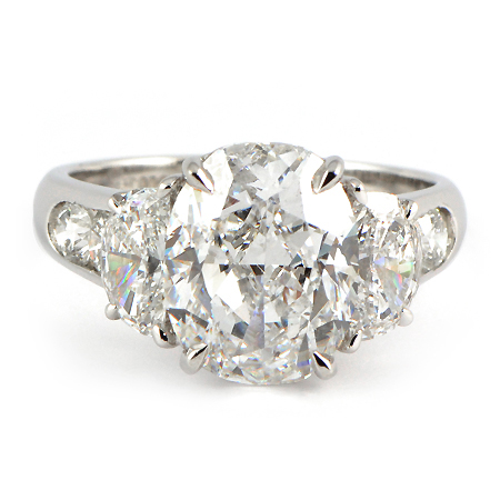 Jb Star Oval Engagement Ring Minneapolis Mn Wixon