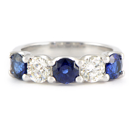 product engagement and sapphire boca diamond bands round platinum raton carat ring