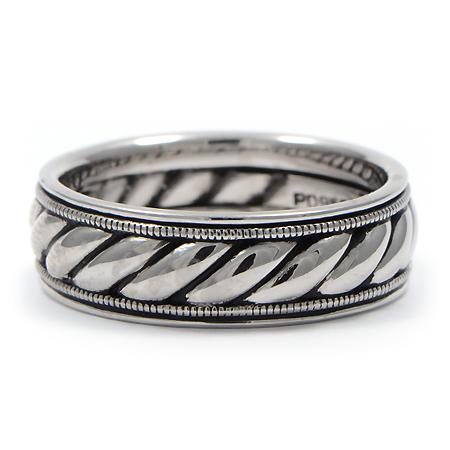 mens wedding rings rope mens wedding rings