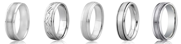 Platinum Men's Wedding Rings