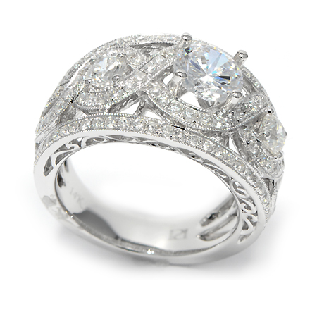 pave engagement rings in minneapolis mn wixon jewelers