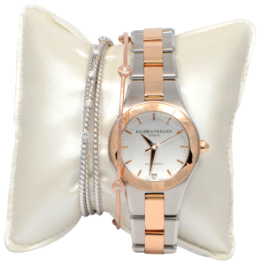 Ladies Baume & Mercier Watch with Diamond Bracelets